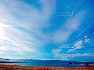 海がある風景の写真・画像素材[4100708]