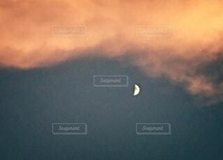 自然,風景,空,夜,夜空,屋外,雲,月,暗闇