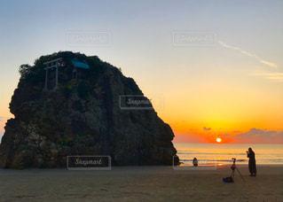 自然,風景,海,空,屋外,太陽,ビーチ,夕暮れ,水面,海岸,光