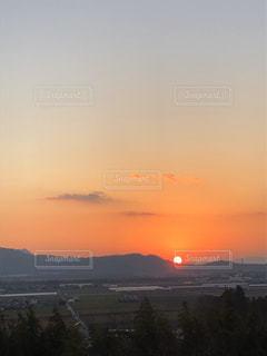 自然,風景,空,太陽,夕暮れ,山,光