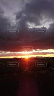 空,太陽,朝日,光,日の出
