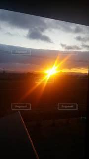 自然,空,太陽,光,日の出