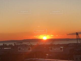 風景,空,太陽,光,日の出