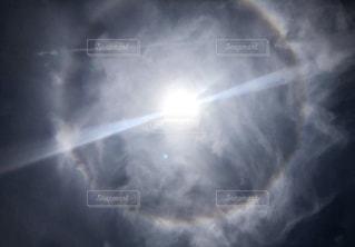 空,太陽,晴れ,光,輪