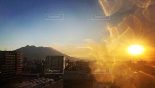 空,太陽,光,高層ビル,初日の出,エネルギー