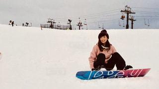 女性,風景,アウトドア,空,スポーツ,雪,屋外,白,人物,スキー,スノボ,ゲレンデ,レジャー,スノーボード,積雪,初心者