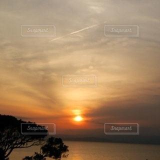 自然,風景,海,空,太陽,夕暮れ,光