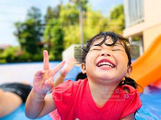 溢れる笑顔の写真・画像素材[2911416]