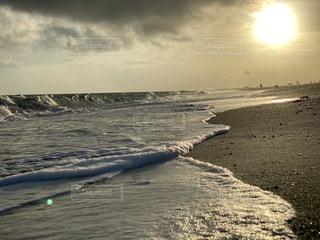海,空,太陽,砂,砂浜,光,クラウド