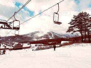風景,アウトドア,空,スポーツ,雪,屋外,山,丘,人物,スキー,ゲレンデ,レジャー,スキー場,スノーボード,斜面,日中
