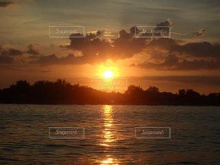 自然,風景,海,空,太陽,夕暮れ,光,サンセット,バリ島