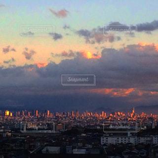 風景,空,太陽,光,都会,高層ビル,日の出,眺め,バック グラウンド