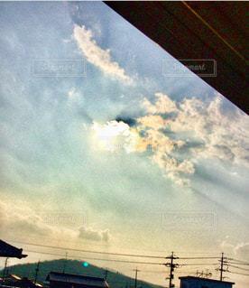 空,太陽,雲,光,風,眩,15時