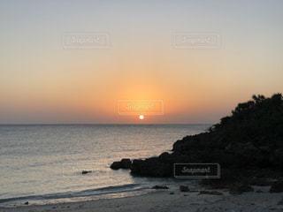 海,空,太陽,ビーチ,夕暮れ,海岸,光