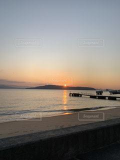 風景,空,太陽,ビーチ,夕焼け,夕暮れ,海岸,光,夕陽