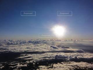 風景,空,太陽,雲,光,雲海