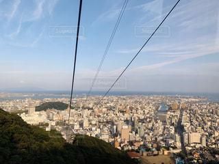 空,太陽,光,徳島,ロープウェイ,眺め,眉山