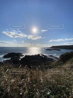 自然,風景,海,空,太陽,海岸,光,岬,眺め