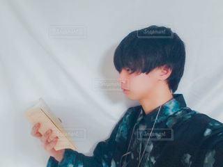 本と僕の写真・画像素材[2948866]