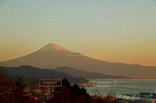 自然,風景,空,富士山,太陽,夕暮れ,水面,山,光,元旦,日の出,富士,初日の出,サンライズ,mountain
