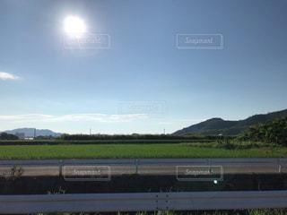 日中の太陽の写真・画像素材[2895738]