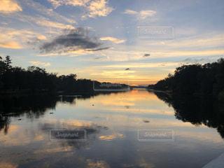 自然,風景,空,屋外,湖,太陽,水面,光