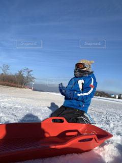 子ども,アウトドア,空,スポーツ,雪,屋外,人物,スキー,ゲレンデ,レジャー,スノーボード