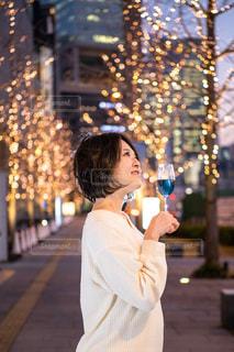 女性,恋人,友だち,風景,夜景,イルミネーション,人,明るい,グランフロント大阪