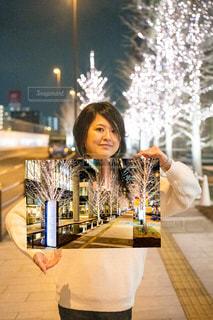 女性,恋人,友だち,風景,夜景,イルミネーション,人,グランフロント大阪
