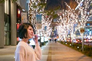 女性,恋人,友だち,風景,屋外,イルミネーション,人,グランフロント大阪