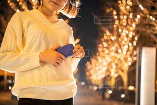 女性,風景,イルミネーション,人,明るい,グランフロント大阪