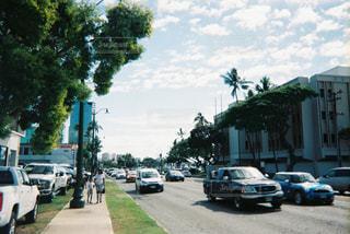 ハワイの道路の写真・画像素材[2906715]