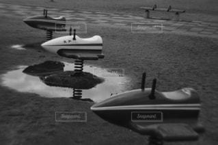 雨上がりの公園の写真・画像素材[2915075]