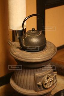 鉄器ヤカンの写真・画像素材[2918155]