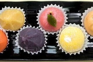 和菓子の盛り合わせの写真・画像素材[3832417]