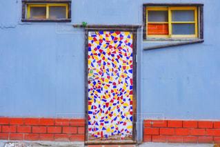 かわいいドアの写真・画像素材[3133945]
