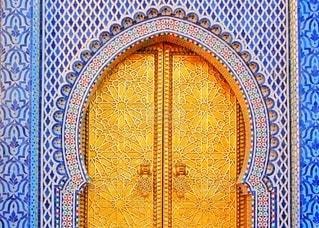美しい門の写真・画像素材[3337050]