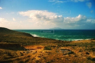 空と海と大地の写真・画像素材[3391697]