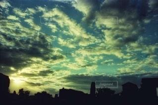 空の雲の写真・画像素材[3391722]
