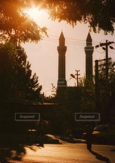トルコの街並みの写真・画像素材[3405867]