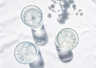冷えた水の写真・画像素材[3488891]