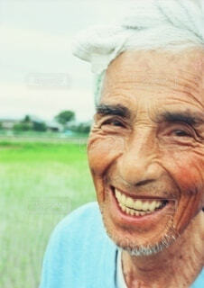 大好きだったおじいちゃんの写真・画像素材[3616283]