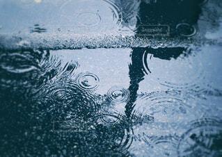 水たまりの写真・画像素材[4465271]