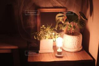 夜の灯りの写真・画像素材[4590042]