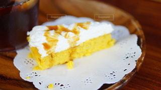 手作りケーキを頂きました。感謝!の写真・画像素材[2926043]