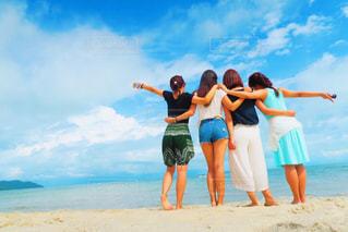 海外,ビーチ,後ろ姿,マレーシア,女子旅,ペナン島