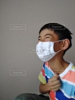 マスク暑い!!!の写真・画像素材[3528404]