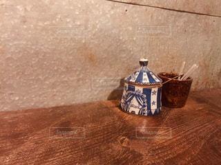 木製のテーブルの写真・画像素材[2982617]