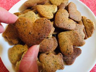 紅茶クッキーの皿の写真・画像素材[3200232]