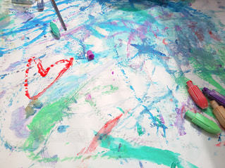 屋外,カラフル,絵の具,アート,ペン,紙,筆,おえかき,おうち時間